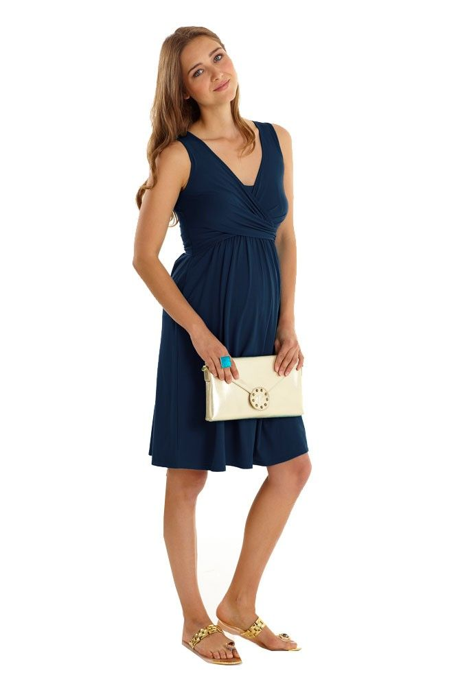 d0152969c5d5b The Ava Sleeveless Wrap Maternity & Nursing Dress is your go-to piece for  instant style and all-day comfort.
