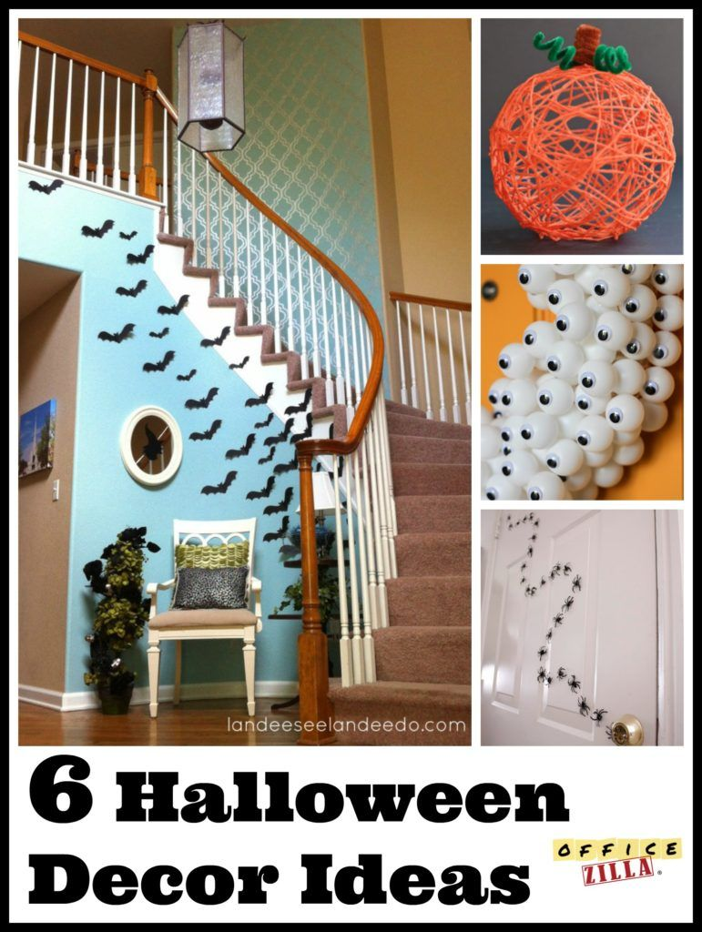 Before those little monsters and scary witches darken your doorstep - Halloween Decorations For The Office