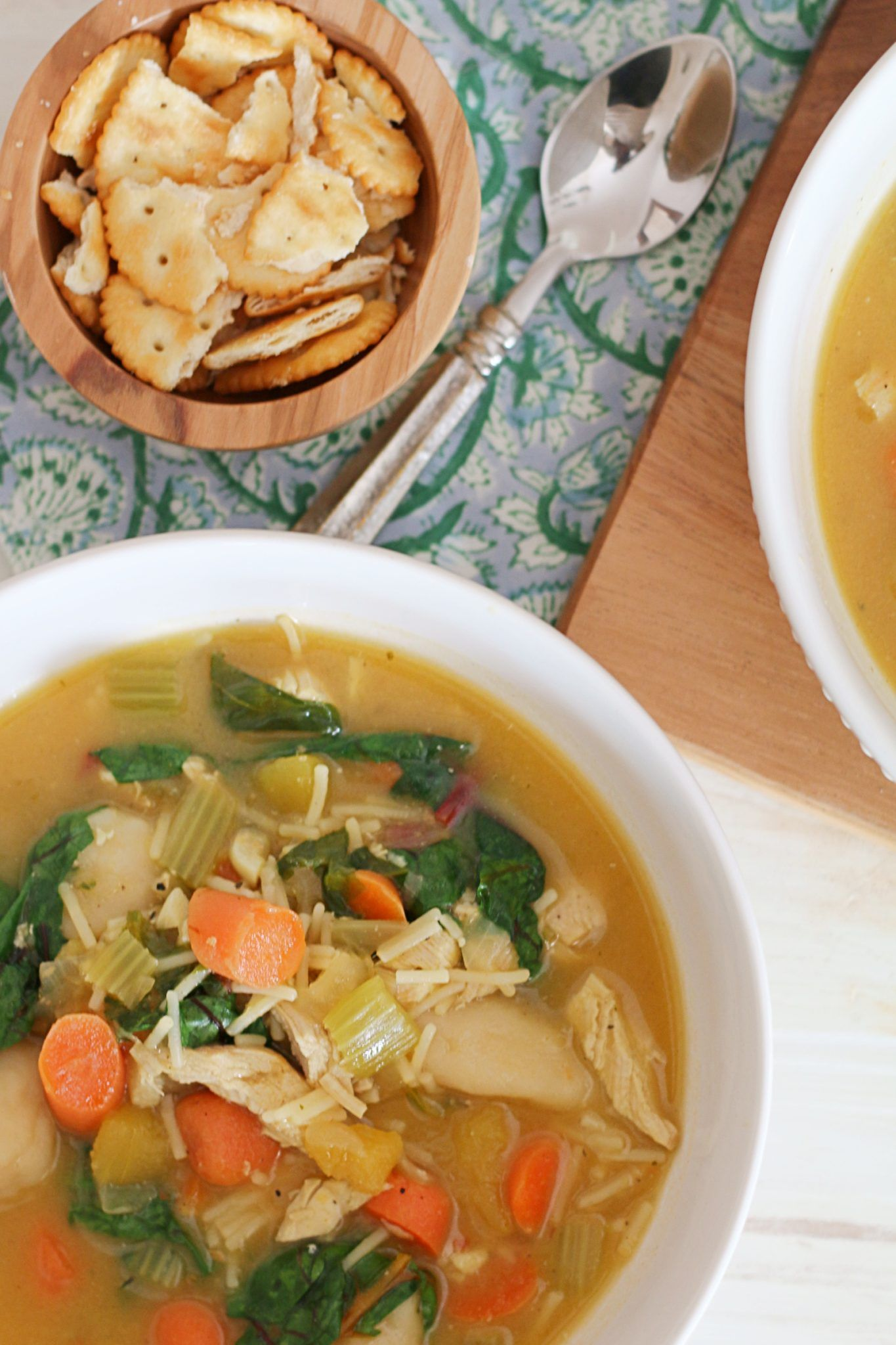 jamaican style chicken soup  recipe  delicious soup