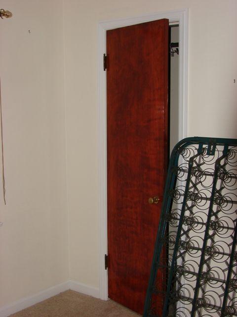 Closet doors before remodel