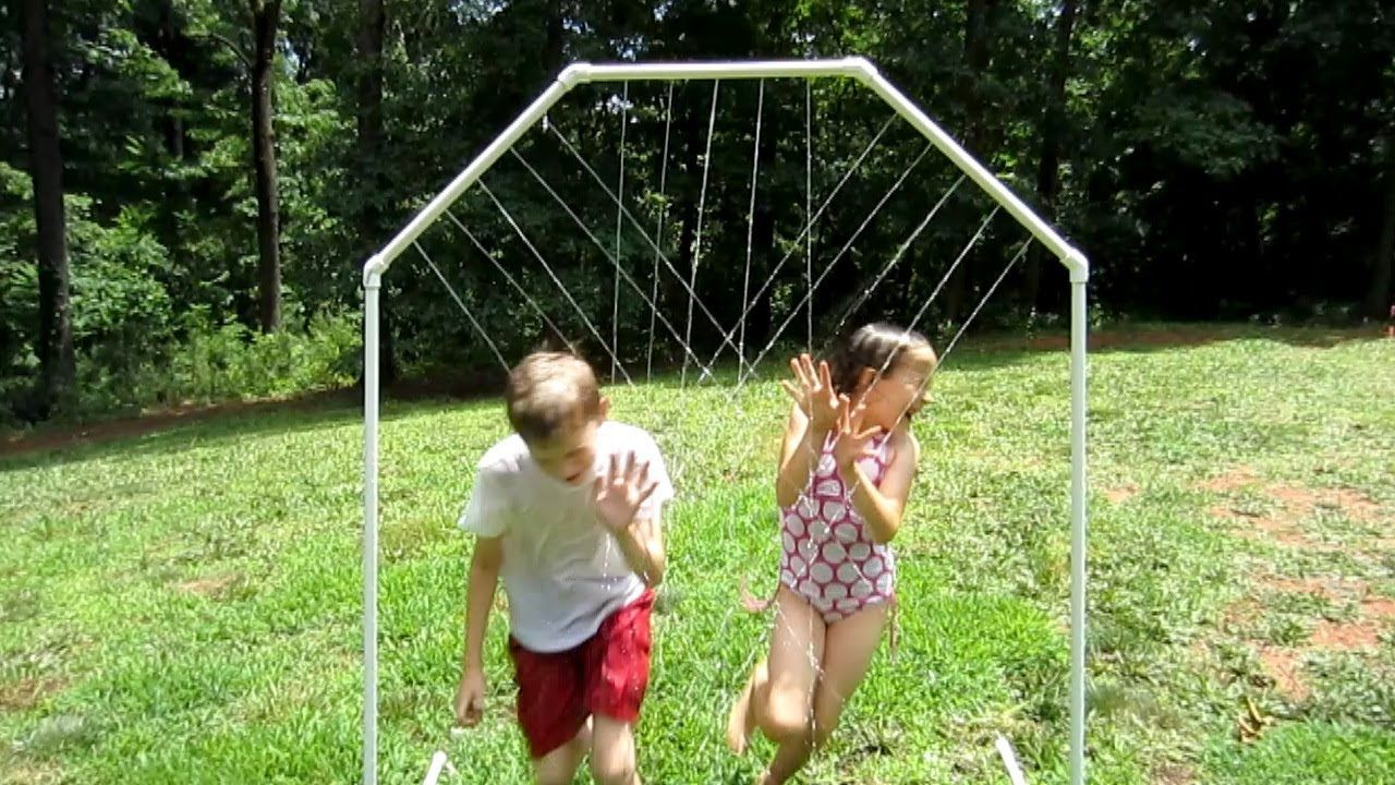 How to make a Homemade Water Park with PVC Is it hard to ...