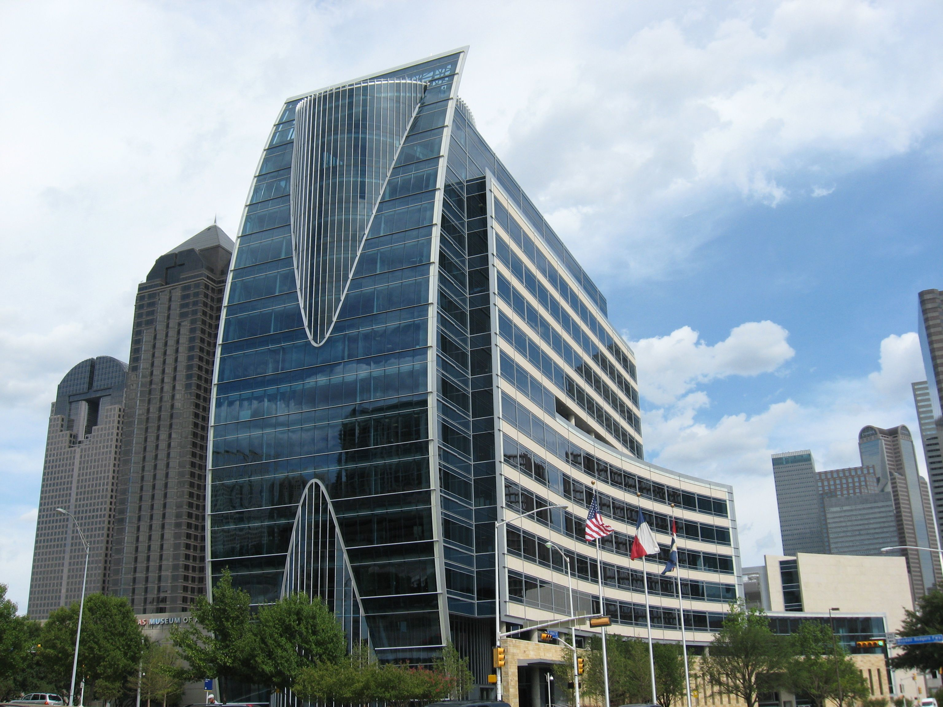 Cool New Dallas Building Dallas Building and Towers