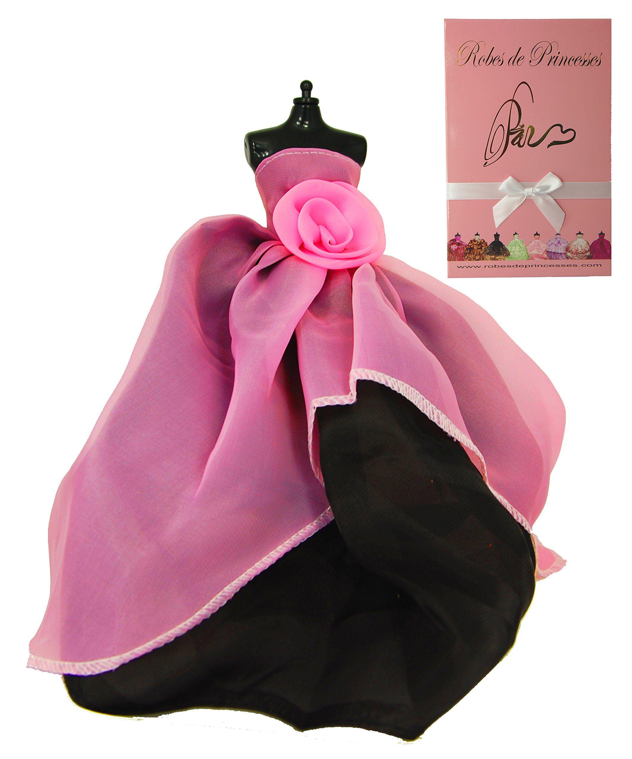 """Robe de Princesse"""" BASE"""" pour poupée Barbie Disney et autres"""