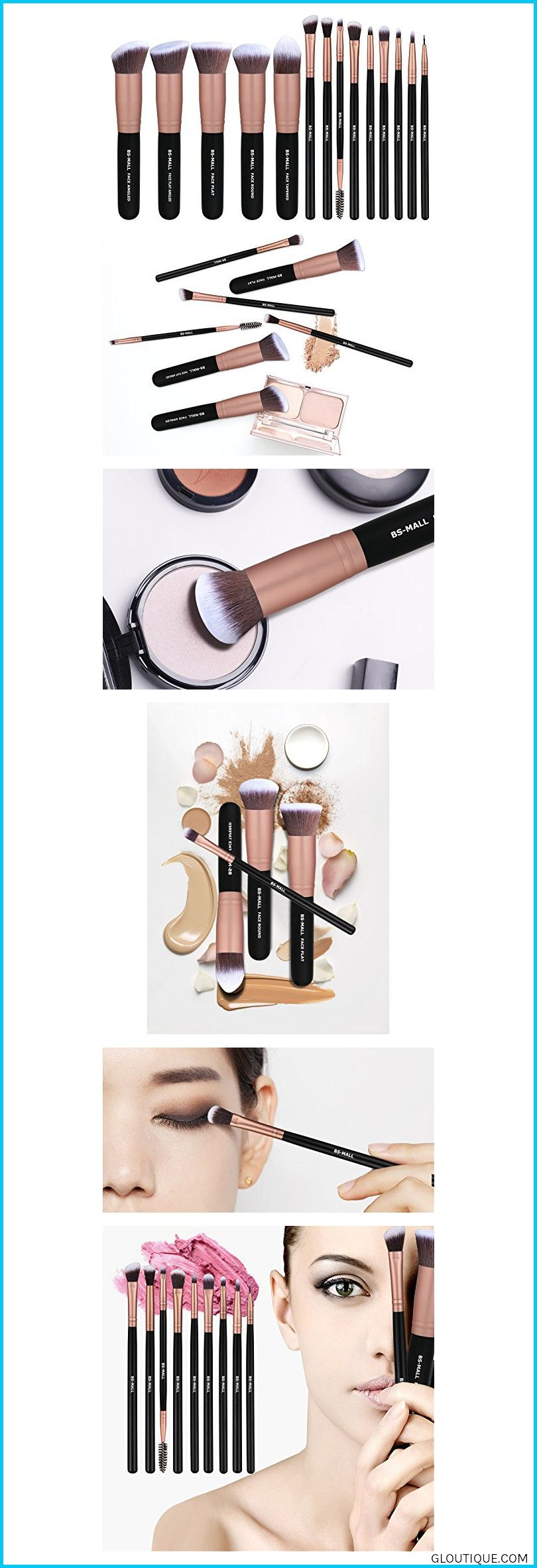 BSMALL Makeup Brushes Premium Synthetic Foundation Powder