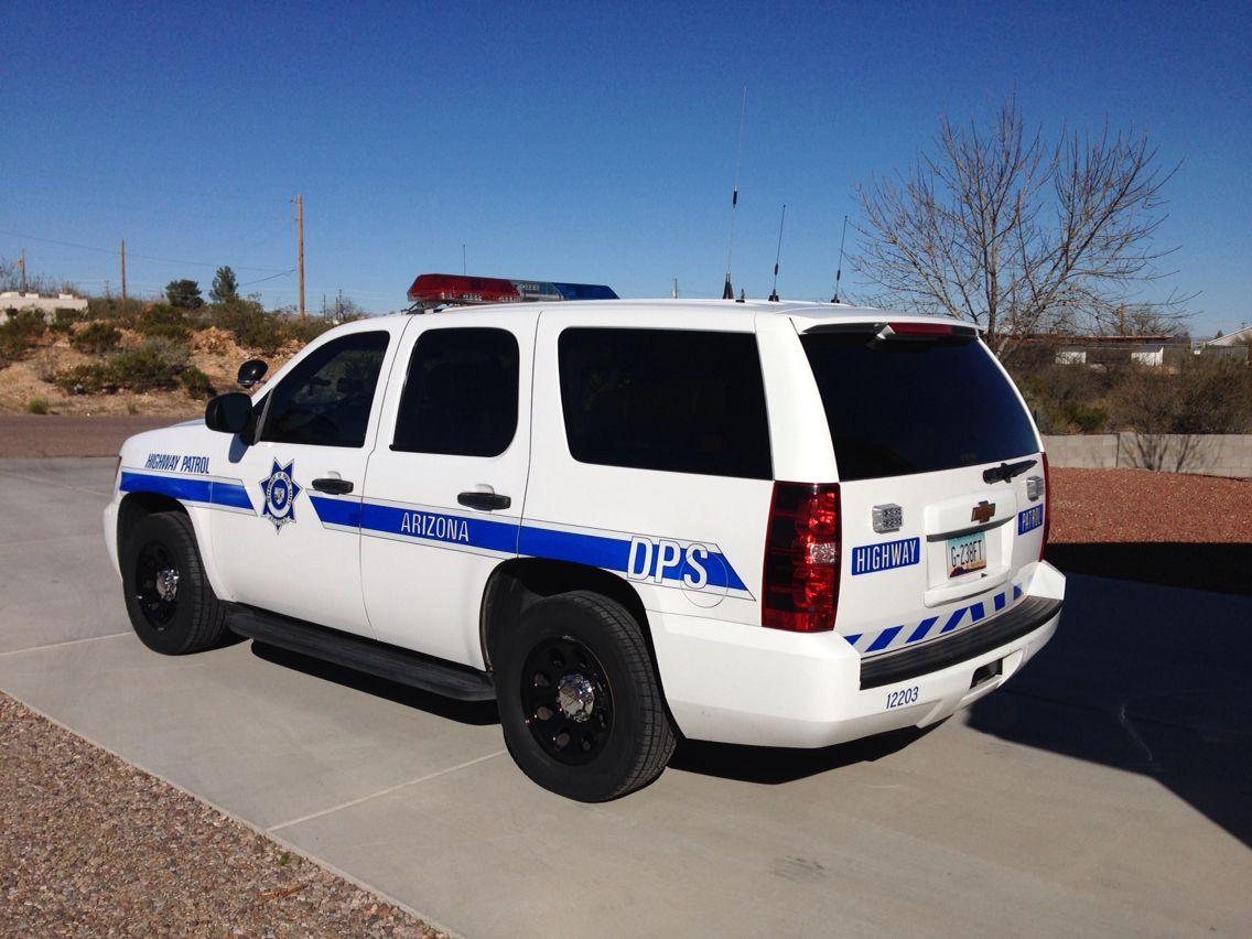 Arizona Dept of Public Safety Highway Patrol  12203 Chevy Tahoe