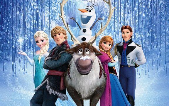 Frozen speurtocht zoek de neus van Olaf dekupaj dekor Pinterest