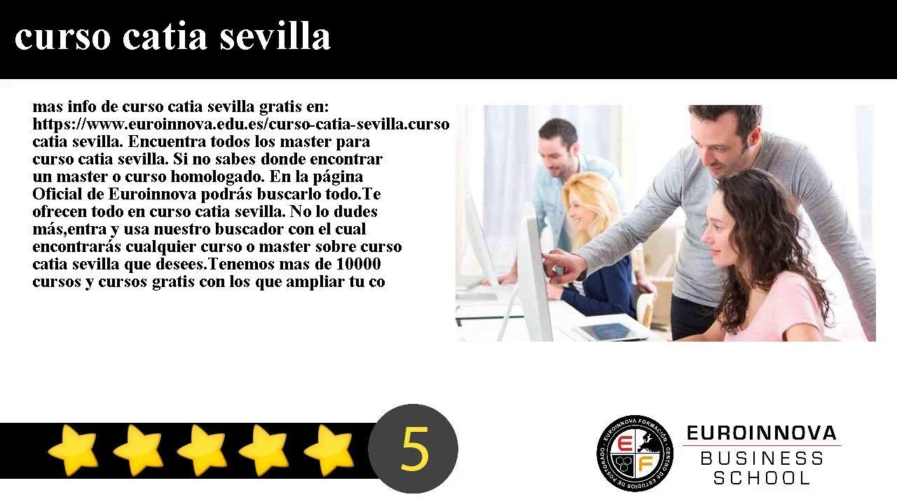 Curso Catia Sevilla Mas Info De Curso Catia Sevilla Gratis En Https Www Euroinnova Edu Es Curso Catia Sevilla Cursillo Ensenanza Virtual Curso Tatuaje