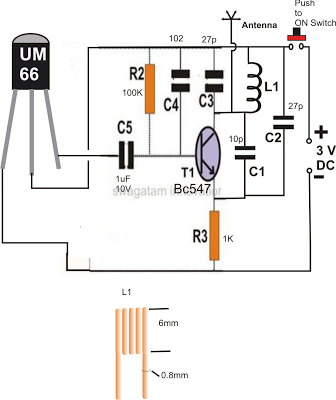 In This Post We Will Learn How To Build A Simple Fm Remote Control Circuit Circuit Projects Circuit Remote Control