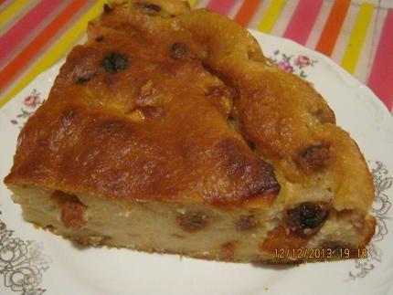 Gâteau+de+pain+aux+pommes(+où+pudding+de+pain)