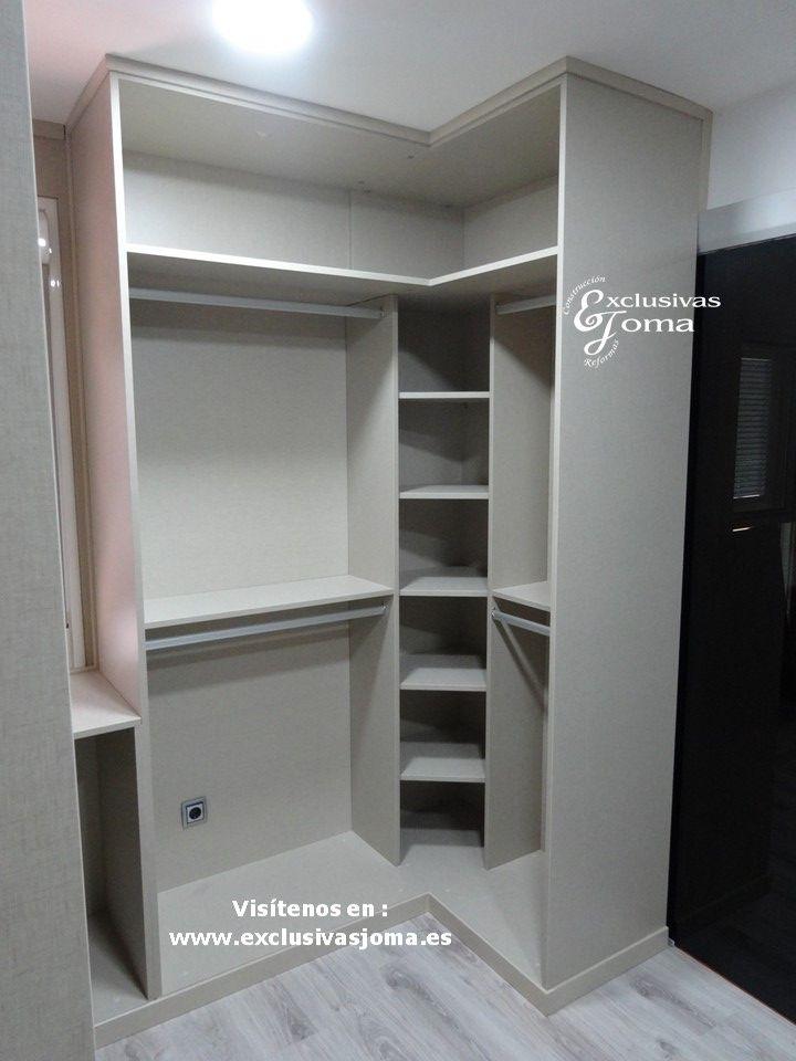 Realizaci n de armario vestidor de 14m2 en habitaci n dormitorio con ba o integrado puertas de - Armarios bano a medida ...
