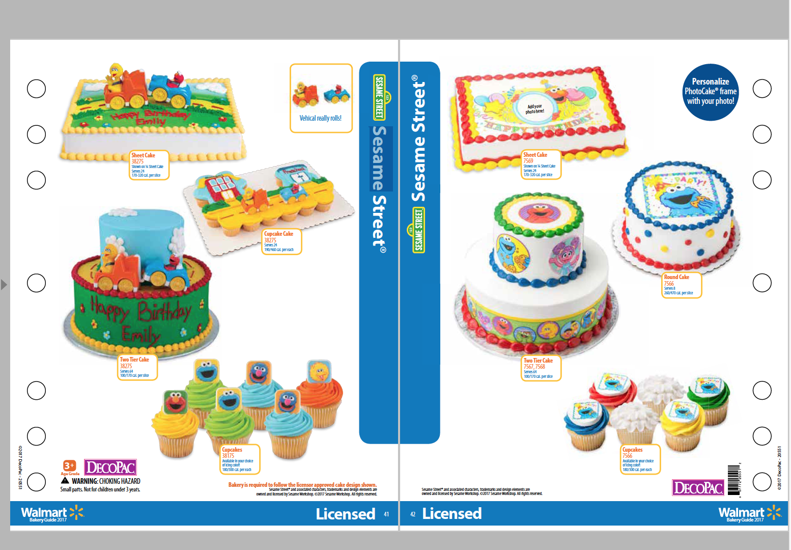 Enjoyable Cakes For Any Occasion With Images Walmart Cakes Cake Sesame Birthday Cards Printable Benkemecafe Filternl