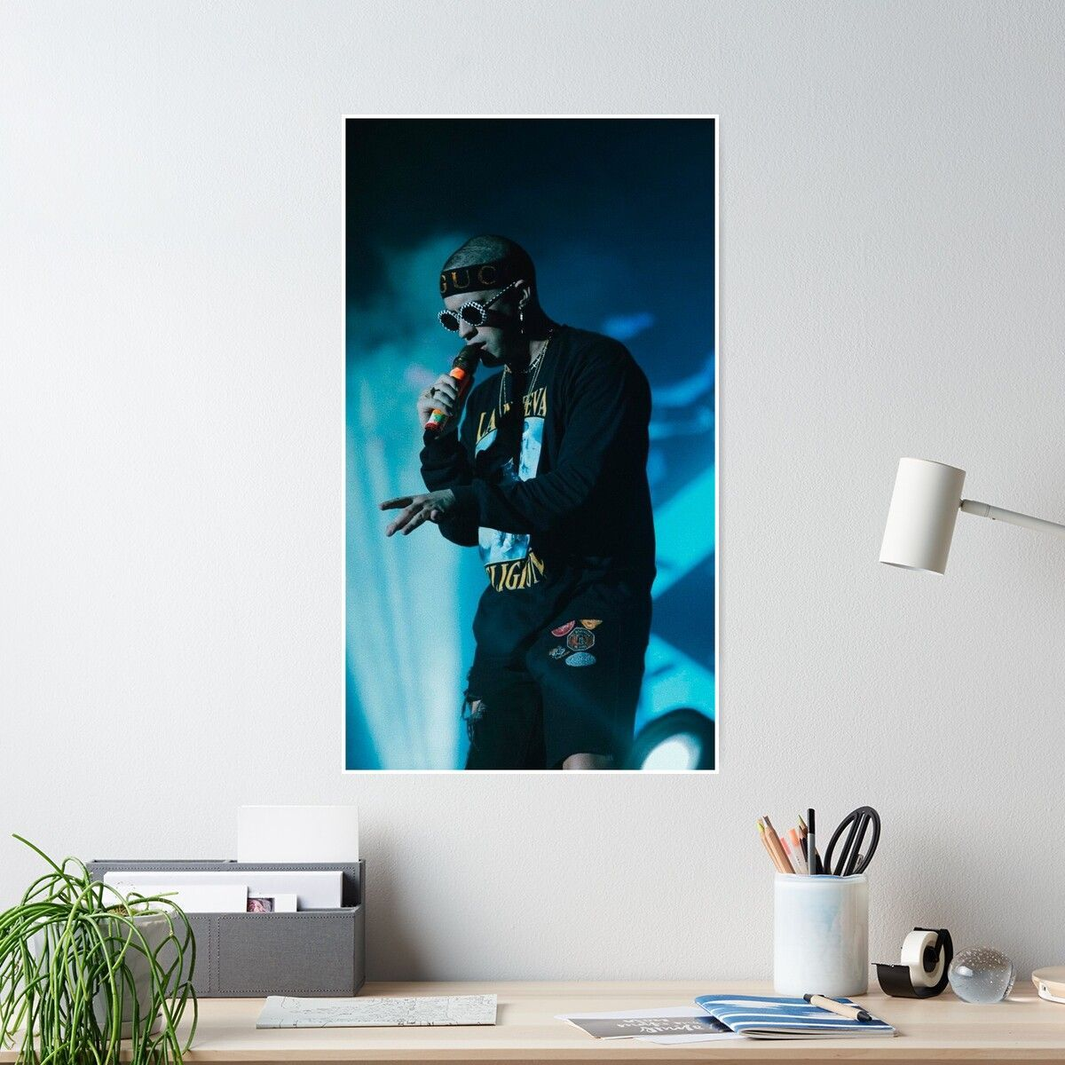 Bad Bunny Concert Poster Badbunny With Images Concert Poster