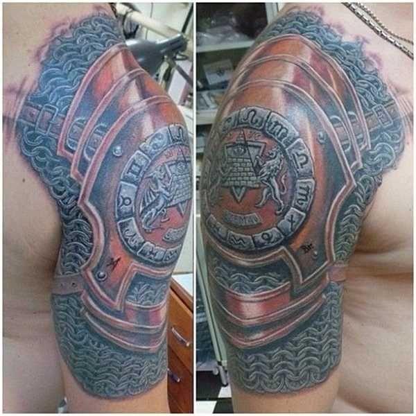 gepanzerte tattoo schultern tatoo m nner pinterest tattoo ideen tattoo vorlagen und. Black Bedroom Furniture Sets. Home Design Ideas