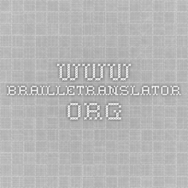 BrailleTranslator.org Free online Grade 2 Braille