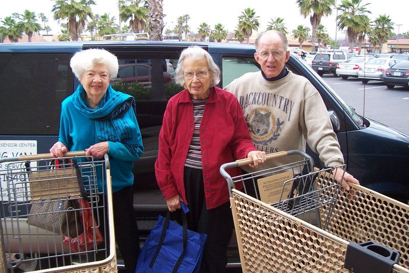 Services are provided through the town to assist seniors