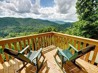 Please Note We Will Never Accept Or Ask For Wire Transfers Above The Clouds Is A Luxury Brand New P Blue Ridge Cabin Rentals Blue Ridge Mountain Vacations