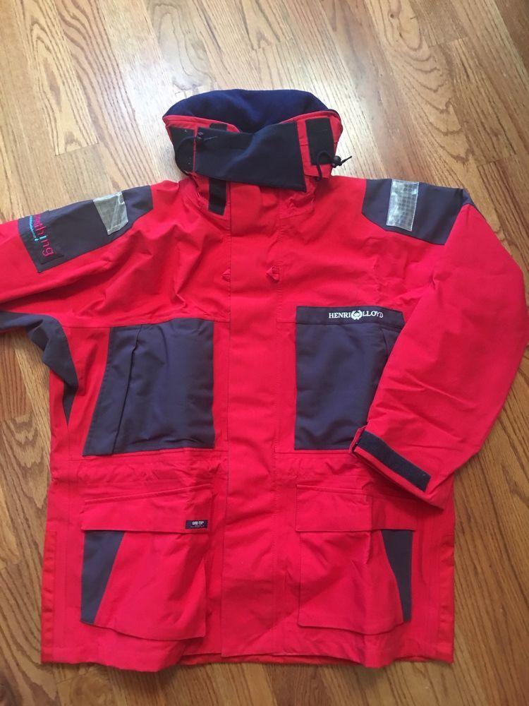 d6ad8967a Henri Lloyd Gore Tex Ocean Technology suit XXL New never worn Red ...