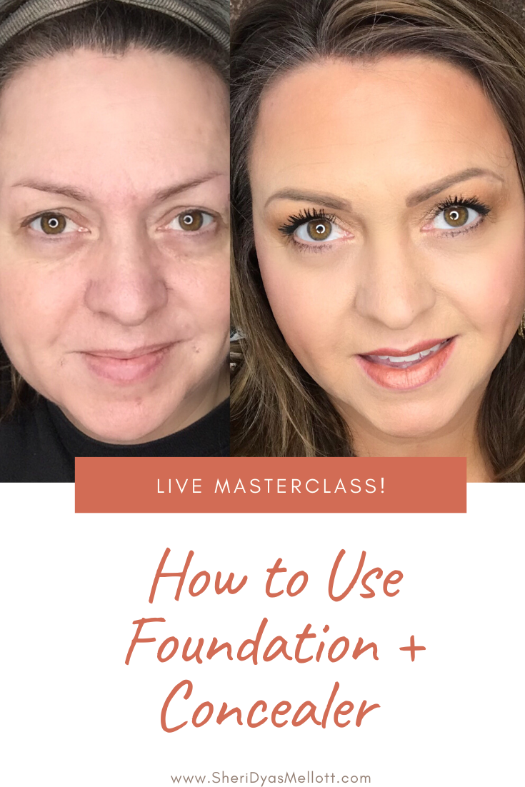 Foundation Tips To Look Younger In 2020 Foundation Concealer Concealer Makeup Tips For Beginners