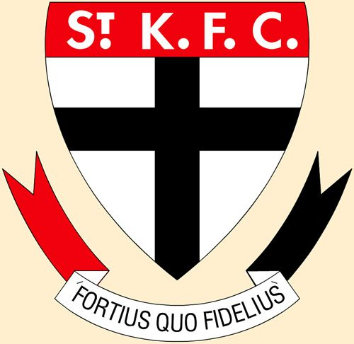 Saint Kilda Football Club Logo St Kilda Football Club Football Team Logos