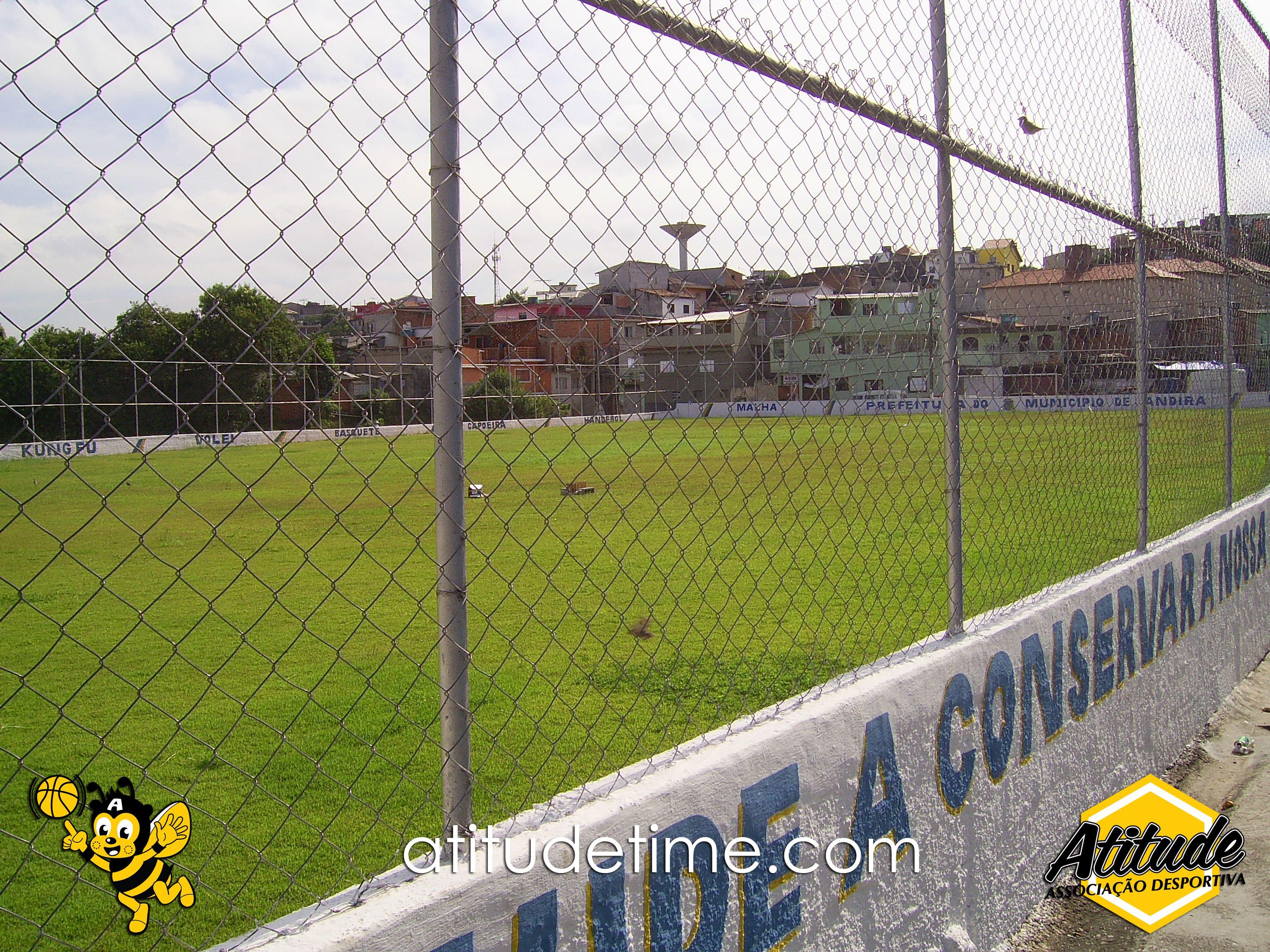 Campo de futebol Jardim Brotinho, Jandira / SP.