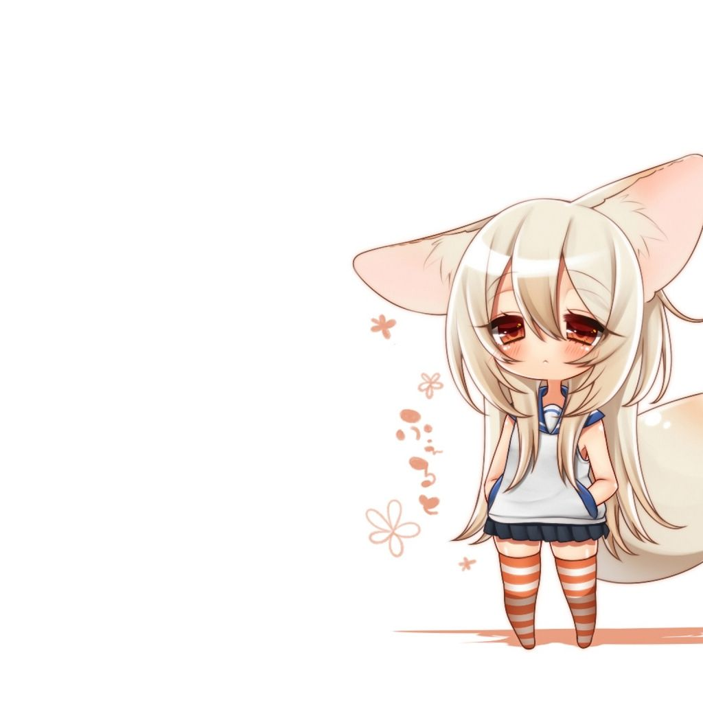 Cute Anime Wallpapers: Chibi Anime IPad Un-Official Stock Wallpaper