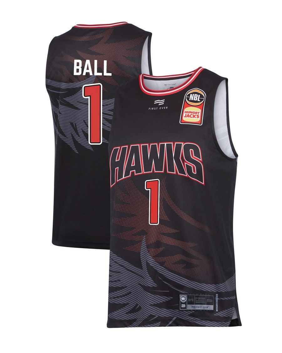 Illawarra Hawks 19 20 Authentic Home Jersey Lamelo Ball Official Nbl Store Lamelo Ball Jersey Ball