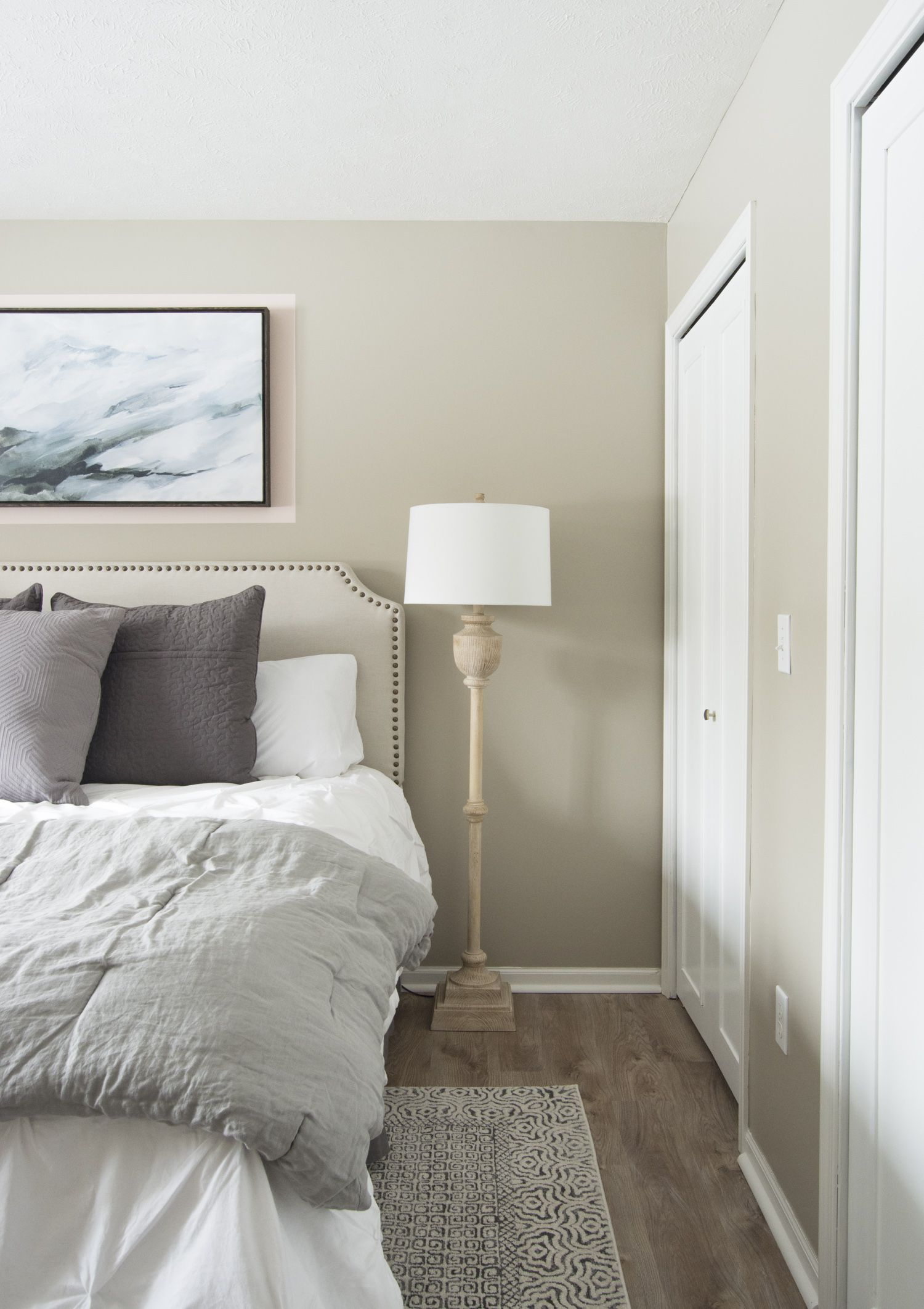 How To Create A Soothing Guest Bedroom With A Soft Color Palette In 2020 Guest Bedroom Colors Small Bedroom Colours Guest Bedroom Remodel