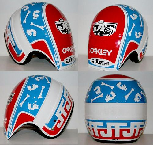 This Vintage Helmet Bmx Helmets Racing Helmets