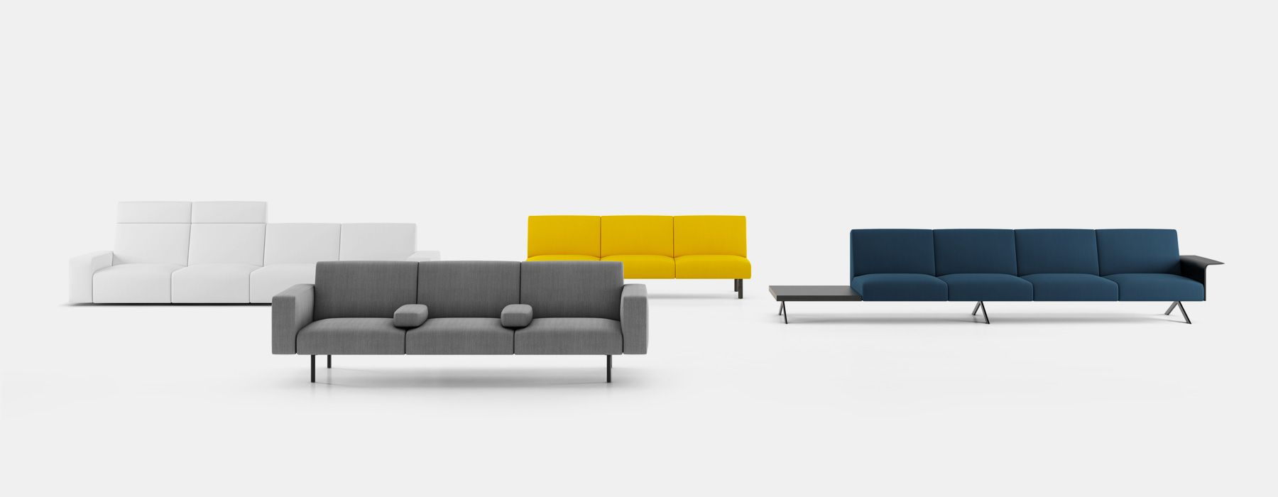 Superieur Lievore Altherr Molinau0027s Sistema Modular Sofa System For Viccarbe Is  Completely Customisable