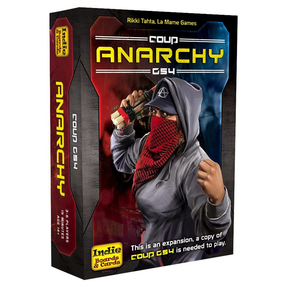 Indie Boards & Cards Anarchy Board Game The expanse