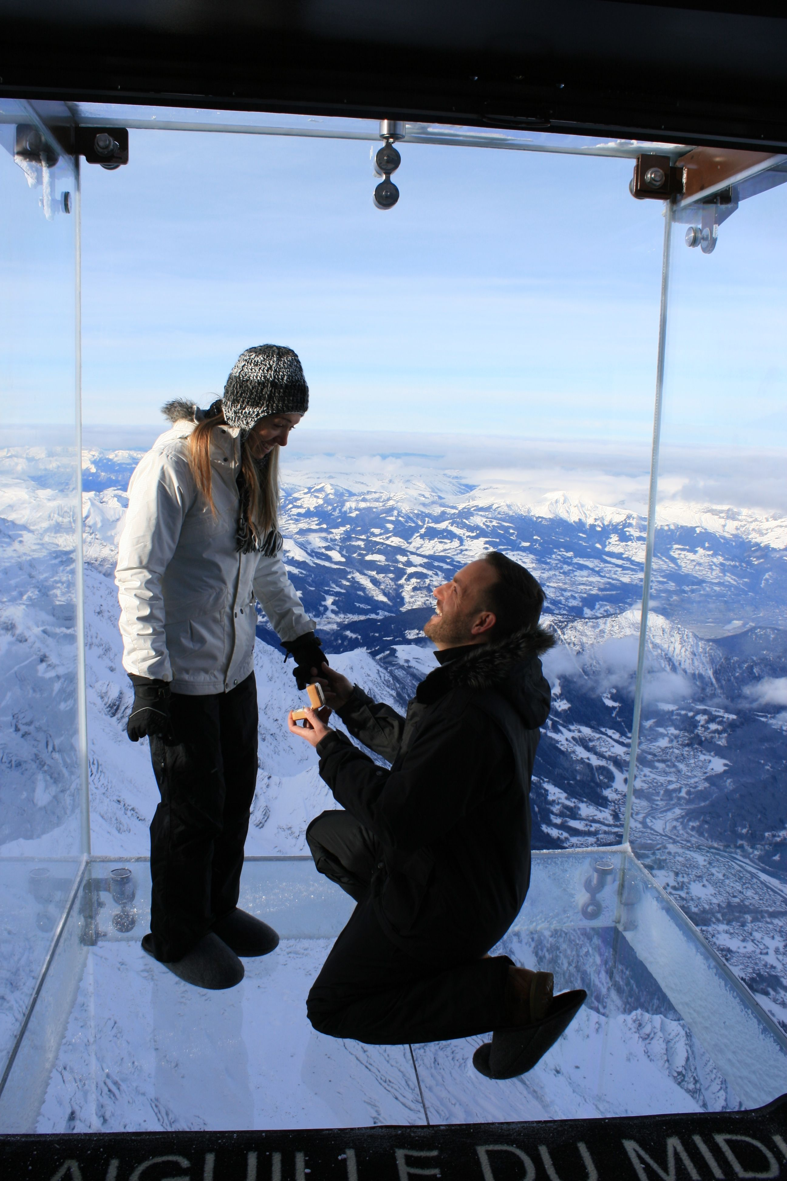 Best Places To Propose Uk Cyclist First On Chamonix Skywalk