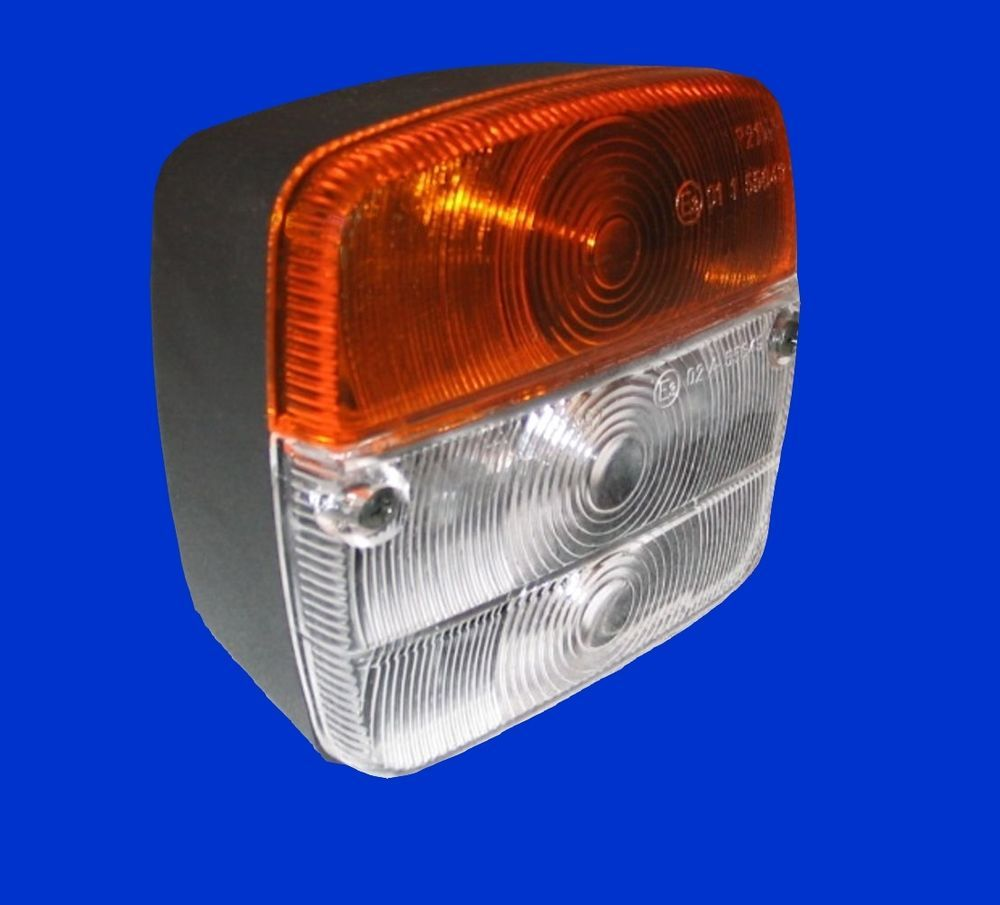 re  entspr H4 Scheinwerfer Reflektor für John Deere 50er Serie li Al63916 *