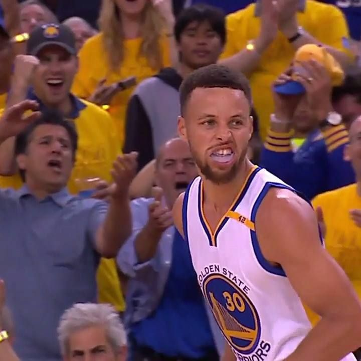 """""""He really has redefined...long distance shooting!"""" Ahead of #NBAFinals Game 3 tonight (9 pm/et, ABC) watch how Steph Curry and Klay Thompson stretch the floor with back to back 30 footers! #NBABreakdown"""