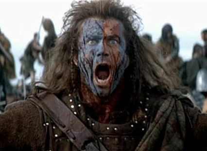 Image result for braveheart yell