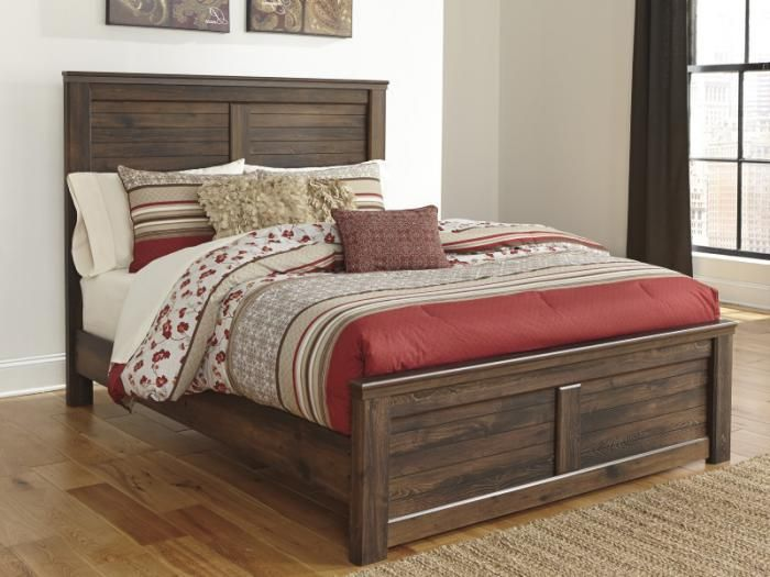 Mb16 Rustic Cottage Queen Panel Bed Taft Furniture Showcase Home