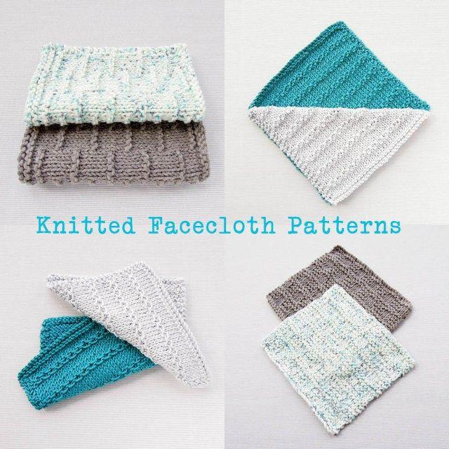 Tutorial : Roman Stripe Knitted Facecloth | Toallas y Tejido