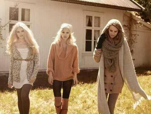 Outfits perfectos y comodos para esos dias frios
