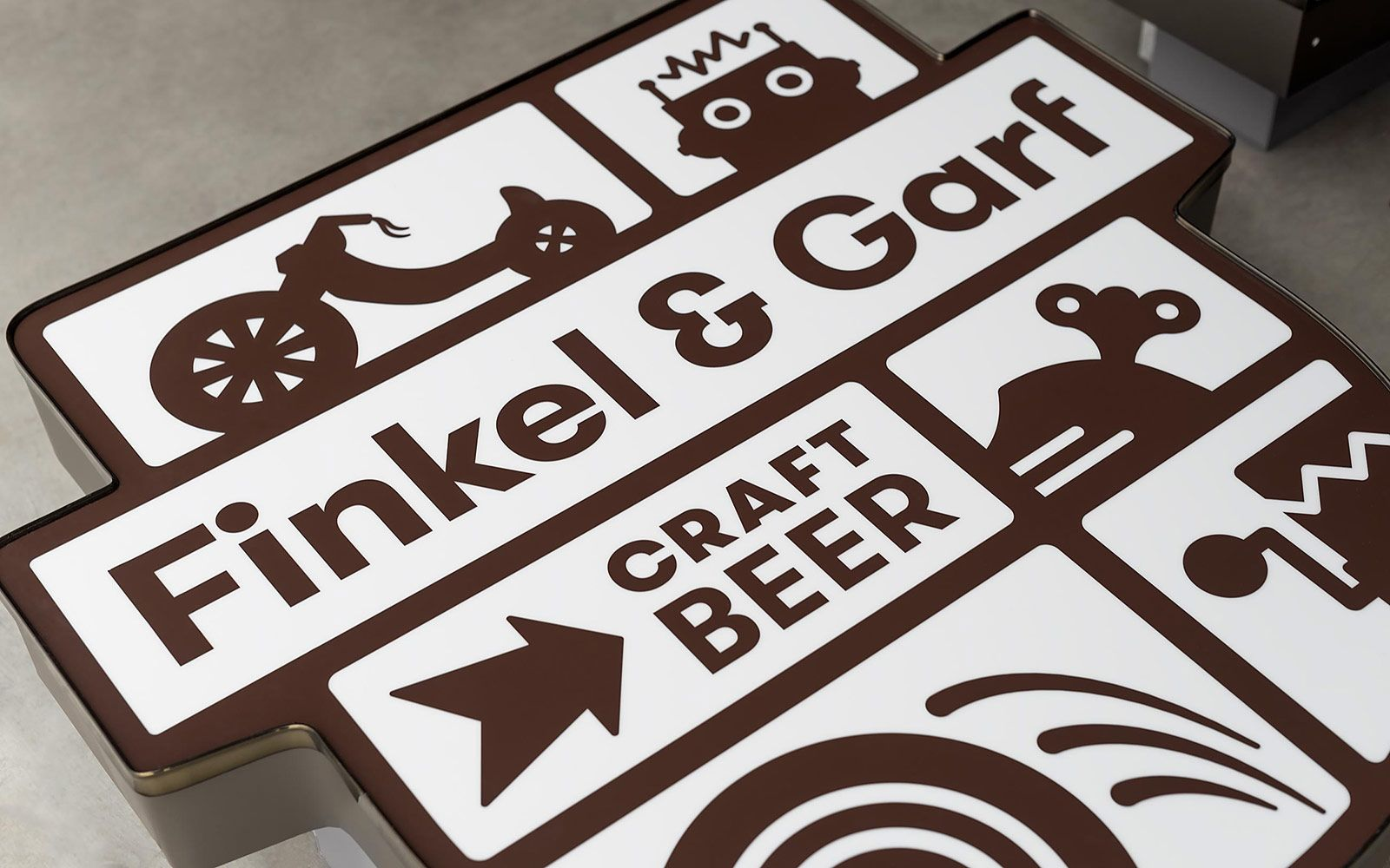 Finkel & Garf Beer Brand Grilli Type Independent Swiss