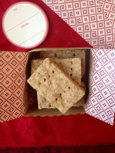 Cinnamon and Rye Shortbread