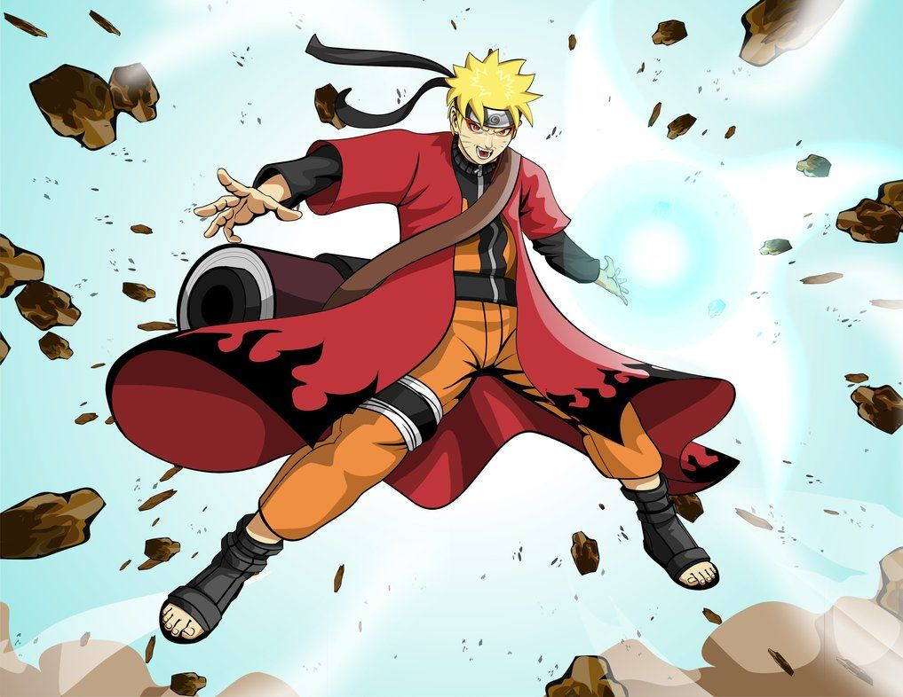 Naruto Uzumaki Sage Mode Wallpapers Desktop Background Naruto