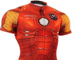 haha why not. Increase your endurance when you start biking with the Iron Man cycling jersey. With a flashy design worthy of the Stark name, this jersey is engineered with...