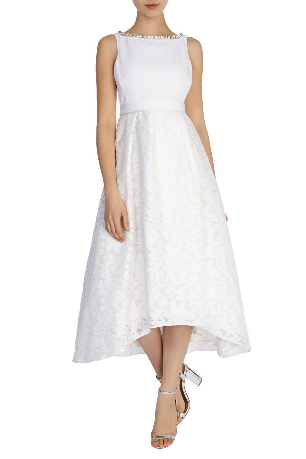 Cheap Tea Length Wedding Dresses And Budget Short Affordable Stylish For