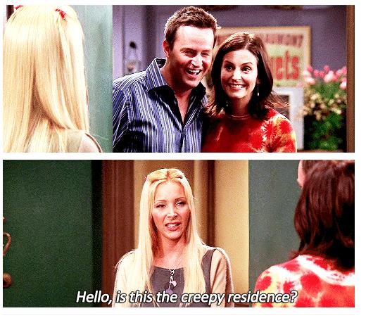 Creepy residence,  I love Phoebe