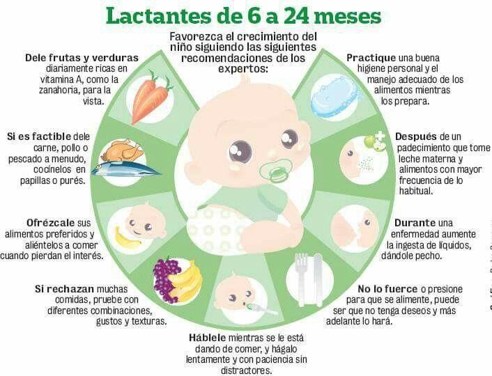 Ablactacion beb papilla pinterest - Alimentacion bebe 7 meses ...