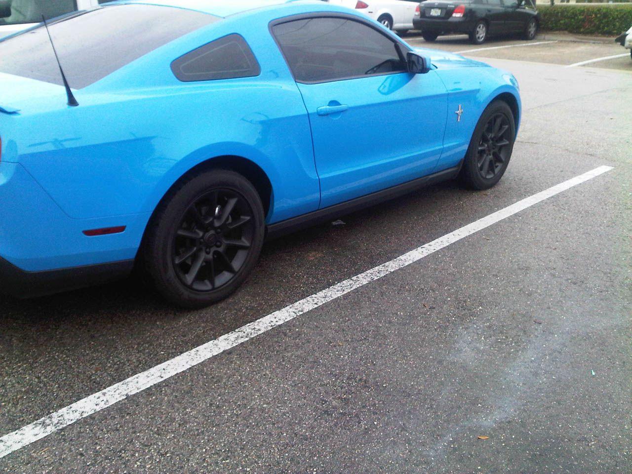 2011 Grabber Blue Ford Mustang V6 Auto, 3 73s, BAMA 93 Tune
