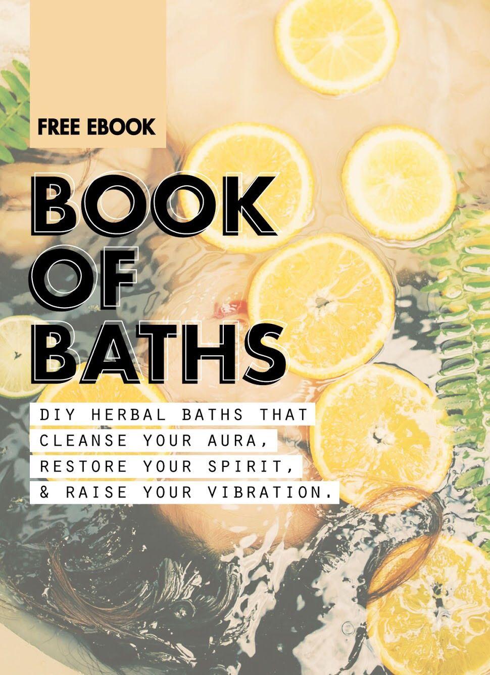 BookOfBaths Vol 1: Spiritual Bath Recipe Book | Sacred Bathing
