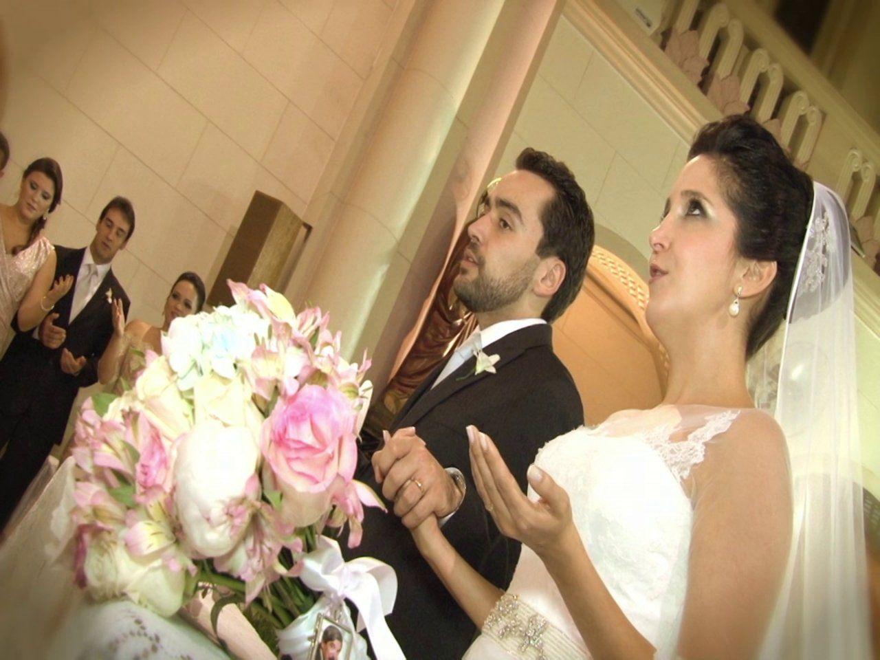 Casamento Flávia e Fábio - Capela do Colégio Assunção e Espaço Villa Verico - J. Ohanes Foto e Vídeo.