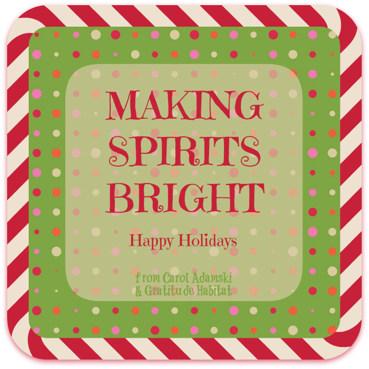 Happy Holidays To All Our Pinners...with Gratitude. ~Carol