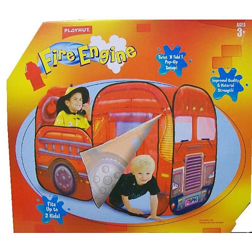 Big Red Fire Engine Twist And Fold Pop Up Playhut Toys