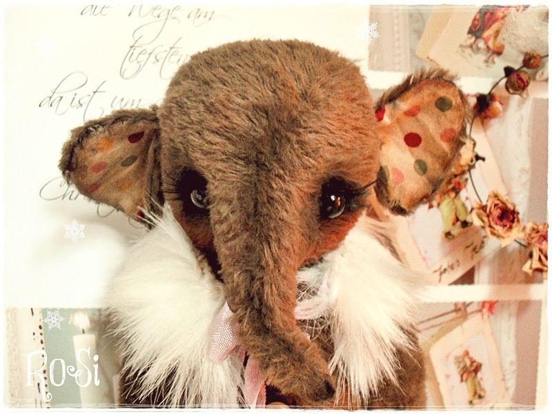 *vintage elephant's Child ♥Rosi♥* von *Teddy-Dolls & Vintage* auf DaWanda.com